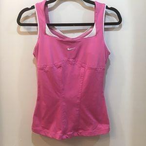 Nike Dri Fit Pink Athletic Tank